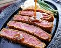 料理メニュー写真千屋(ちや)牛肉ビーフカツレツセット A5・4ランクの黒毛和牛「千屋(ちや)牛肉」使用!