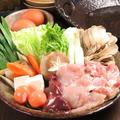 料理メニュー写真【江田島産】一黒軍鶏水炊き