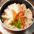 料理メニュー写真カニ釜飯(並)