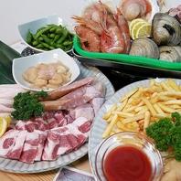 【楽しみ方豊富♪】中では地元食、外では手ぶらBBQ!