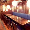 開放的なテーブル席♪12名までOK★