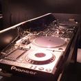 DJ機材も取り揃えてます!
