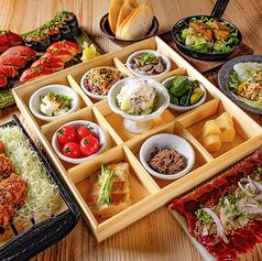名古屋 肉寿司のコース写真