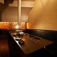 テーブル個室のご用意も。女子会や合コンなどの飲み会に利用できます。