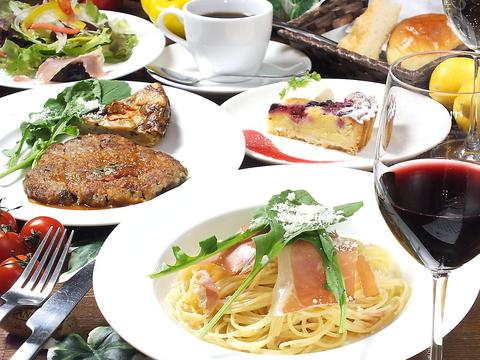 ~料理、パン、ケーキ全て女性シェフが手がけるイタリアンカフェ。女子会・記念日に~