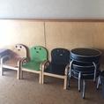 お子様用の椅子もご用意ございます。お子様と一緒にお気軽にご来店ください。