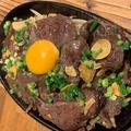 料理メニュー写真ハラミのステーキ
