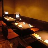 合コンや女子会に最適なテーブル席もご用意致しております!各種ご宴会や普段使いの飲み会まで、ご要望にあわせたお席をご案内を致しております。当日急に決まった飲み会などもお気軽にご相談くださいませ!美味しい和食料理と豊富なドリンクをご用意してお客様をお待ちいたしております!