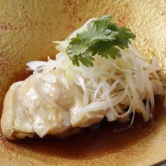 鶏の白蒸し 広州ソース
