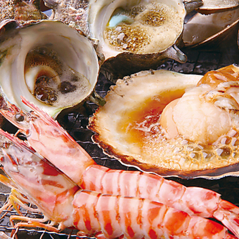 【個室多数】新鮮な魚介・串揚げ・お寿司などゆったりとお食事を楽しんで頂けます。