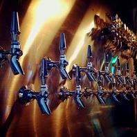 15種類のこだわり樽生クラフトビール
