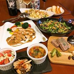 肉&チーズ&ワイン 神保町ビストロ Fleurie フル―リーのコース写真