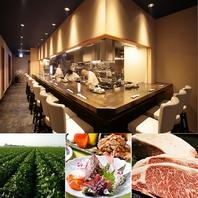厳選食材と職人の技