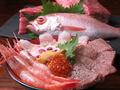 料理メニュー写真海鮮牛丼