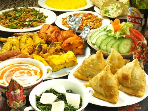 インド料理にこだわった当店!本格料理をお楽しみください♪