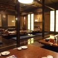 最大60名様まで収容可能な個室へご案内★津田沼周辺で大宴会をするならぜひ当店をお選びください★大切な方へのサプライズのお手伝いもしていますのでなんなりとご相談下さい♪