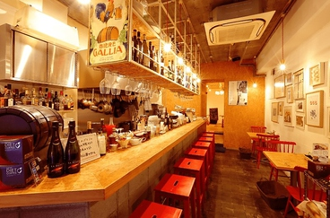 カフェ レストラン ガリーレ Cafe restaurant Guarire 桃谷の雰囲気1
