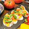 料理メニュー写真アグー豚の炙り温製カルパッチョ