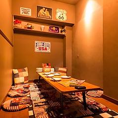 実はこんなカワイイ個室も完備しております!少人数で隠れ家気分のバースデーなどにもオススメです♪