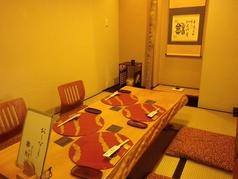 小宴会のピッタリの座敷。ご予約お待ちしております!
