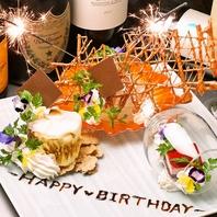 デザートプレートプレゼント♪栄で誕生日祝いなら当店へ