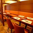 [1階]新しく増えた個室で快適宴会♪2階にも10名様ほどの個室あり