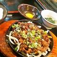 【ランチ】 スキヤキ定食 1020円