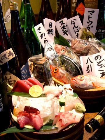 江坂駅より徒歩3分の人気店♪素材に素直な魚居酒屋!!