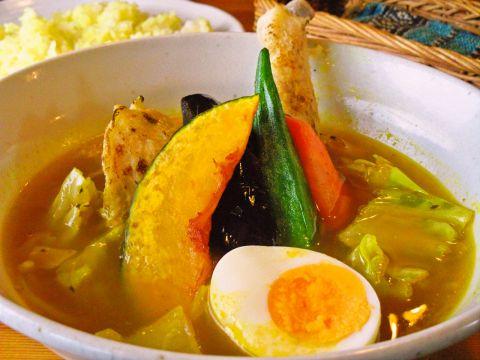 スープ カレー マルナ