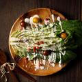 料理メニュー写真ロメインレタスの粉雪シーザーサラダ