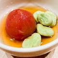 料理メニュー写真トマトのおでん!