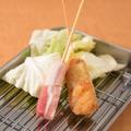 料理メニュー写真串カツ豚