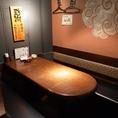 人気の個室はお早めのご予約を。2~6名様までの個室もご用意しております!【居酒屋 伊勢原 飲み放題 個室 飲み放題】