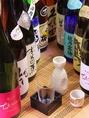 その他、日本酒も豊富にございます。