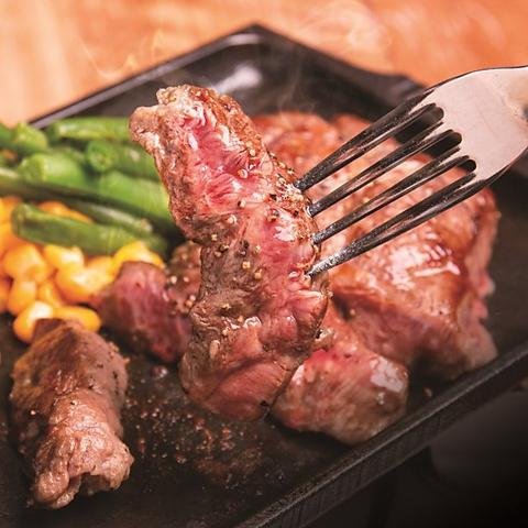 1ポンド(450g)ステーキも食べられます!