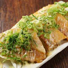 料理メニュー写真豚カルビスタミナ焼き~ゆずスタミナソース~