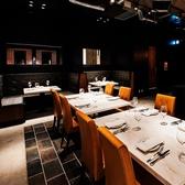 ◆ビストロ◆ビストロのメインはこの大テーブル!小中人数でのパーティーの際は是非このテーブルで!