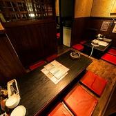 8名様~10名様の半個室。ゆったり寛げる、落ち着く空間★ボトルワイン御注文でお好きなタパス1品サービス!!※クーポン利用時