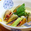 料理メニュー写真チャンバラ貝の酒蒸し