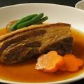 料理メニュー写真【遠州夢の夢ポーク】豚バラ肉のやわらか煮