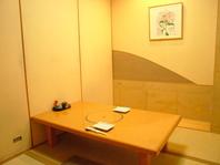落ち着いた空間でのお食事をご希望の方にオススメの個室
