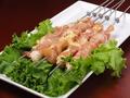 料理メニュー写真鶏(モモ肉/ナンコツ/ハーツ) / 砂肝