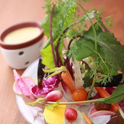 あべのハルカス14F★契約農家直送の新鮮な旬のお野菜とパスタのお店『AWキッチン』!!