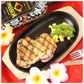 料理メニュー写真朝〆地養鶏ステーキ