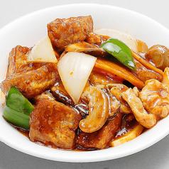 (五目豆腐/揚げ豆腐の辛子)煮込み