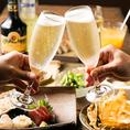 和食と肉寿司料理 風林火山 赤羽店ではお飲み物の種類も豊富にございます!定番ビールをはじめ、日本各地、そして世界中から取り寄せたお酒を各種ご用意しております!単品飲み放題プランは980円★