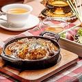 料理メニュー写真【90分Tea Free付き】産みたて卵のふわとろオムハヤシランチ ~紅茶仕立て~