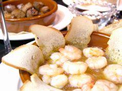 料理メニュー写真ぷりぷり海老のオイル煮