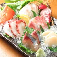 旬のお魚を新鮮お刺身で堪能できます!
