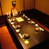 茶室風の大小個室
